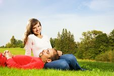 Free Young Couple In Love Stock Image - 6381491