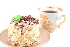 Free Cakes And  Coffee Royalty Free Stock Photos - 6381958