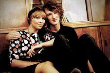 Free Retro Stylized Photo Of A Couple Royalty Free Stock Image - 6382326
