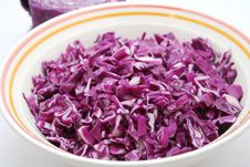 Free Red Cabbage Royalty Free Stock Photography - 6382427