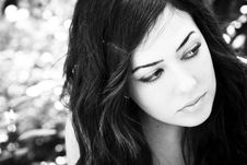 Free Young Woman Portrait Stock Photos - 6382453