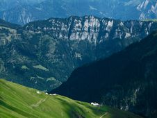 Free Mountain Ridge In Switzerland Stock Photos - 6382903