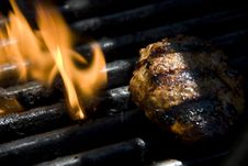 Free Grill Flame Stock Photos - 6383743