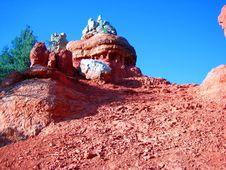 Free Red Rock Hoo Doo Stock Image - 6383781