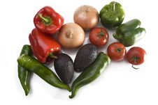 Free Fresh Vegetables Royalty Free Stock Image - 6384396