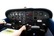 Free Airplane Cockpit Royalty Free Stock Images - 6384409