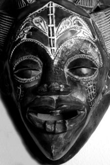 Free African Mask Royalty Free Stock Photos - 6384658