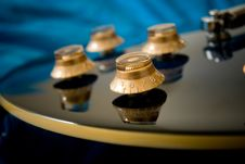 Free Electric Guitar Knobs Stock Photography - 6385462