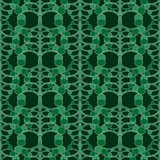 Free Seamless Green Ornament Pattern Stock Images - 6385794