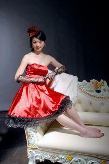 Free Asian Girl Royalty Free Stock Image - 6386076