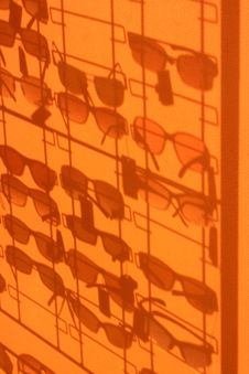 Free Silhouette Glasses 1 Stock Images - 6386284