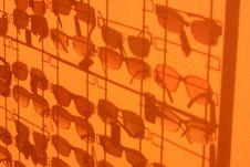 Free Silhouette Glasses 2 Royalty Free Stock Photos - 6386398