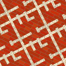 Free Seamless Domino Pattern Stock Image - 6386531
