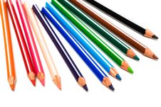 Free Beautiful Color Pencils Royalty Free Stock Photos - 6386828
