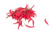 Free Red Chili Peppers Stock Image - 6387041