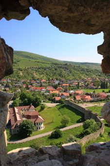 View Of Devin Town From Devin Castle Stock Images