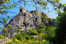 Devin Castle Near Bratislava Stock Photography
