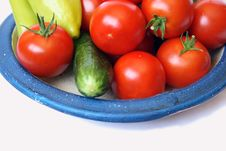 Free Tomato, Sweet Peper And Cucumber Royalty Free Stock Photos - 6388458