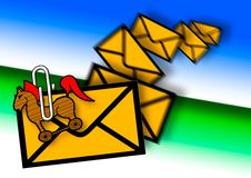 Junk Mail Royalty Free Stock Images