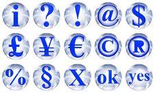 Free 3d Symbol On Sphere Stock Photo - 6388830