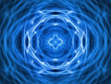 Blue Energy Background Stock Photos