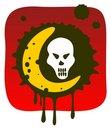Free Skull And Moon Stock Photo - 6396890