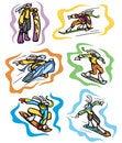 Free Bunny Sport Illustrations Royalty Free Stock Image - 6397586