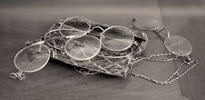 Free Antique Glasses Royalty Free Stock Photo - 6390865