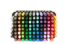 Free Colored Markers Stock Image - 6391091