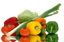 Free Fresh Vegetables Royalty Free Stock Photography - 6391407