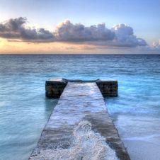Maldivian Morning Royalty Free Stock Photo