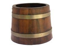 Free Wood Bucket Stock Photography - 6391882