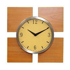 Free Wooden Clock Stock Photo - 6392360