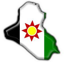 Free Iraq Button Flag Map Shape Stock Photo - 6392700