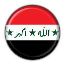 Free Iraq Button Flag Round Shape Stock Photos - 6392713