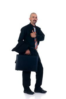 Free Alternative Businessman Stock Photography - 6393372