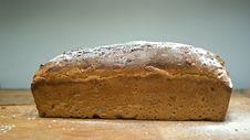 Free Fresh Baked Whole Grain Bread Royalty Free Stock Photo - 6393645