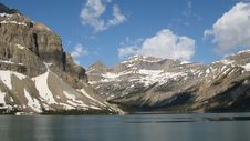 Bow Lake, Alberta Royalty Free Stock Images