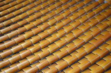 Free Colored Glaze Roof Royalty Free Stock Images - 6395269