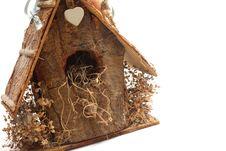 Wooden Birdhouse Stock Photos