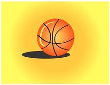 Free Basketball On The Floor Stock Photo - 6395620
