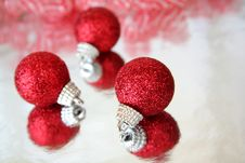 Free Christmas Ornaments Stock Image - 6395631