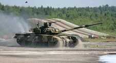 Free Russian Tank Royalty Free Stock Photography - 6395697