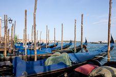 Free Gondolas, Venice, Italy Stock Images - 6395954