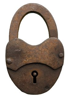 Free Closed Padlock, Old Royalty Free Stock Image - 6396266