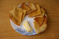 Russian Pancakes Stock Image