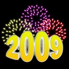 Free New Year 2009 Stock Photos - 6396783