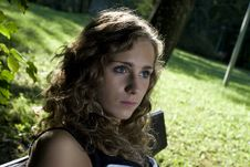 Free Portrait Of Young Woman Stock Photo - 6396840