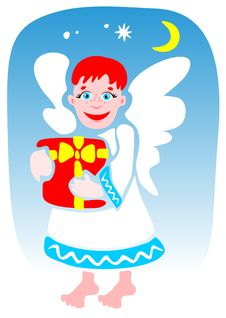Free Christmas Angel Stock Images - 6396854