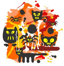 Free Halloween Background Stock Photography - 6396862